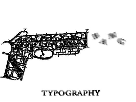 typography-gun-92921025