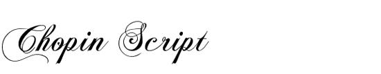chopin-script