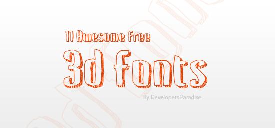 3d-fonts-header