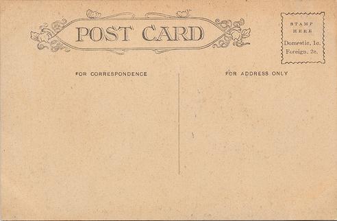 Vintage Postcard Texture