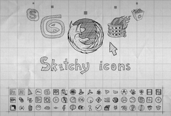 sketchy_icons_by_azuresol