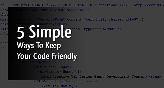 5-simple-ways-to-keep-your-code-friendly