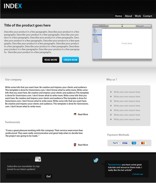 create-a-clean-business-web-template-design-in-photo