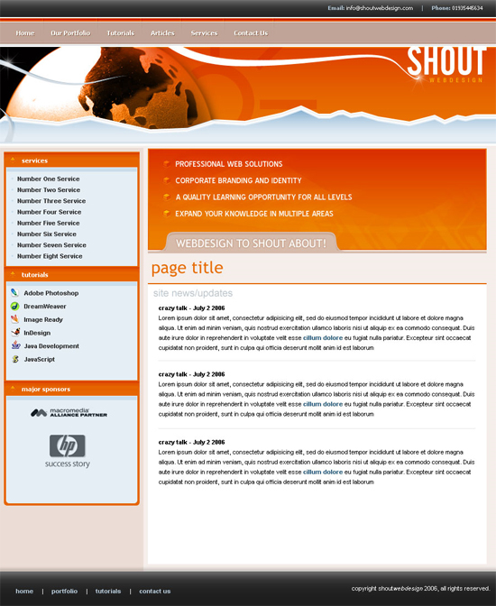 create-an-orange-web-layout-using-photoshop