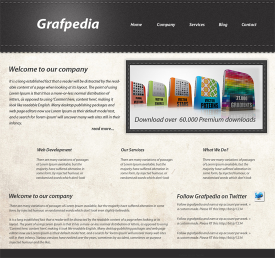 create-gritty-website-layout