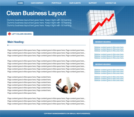 design-a-clean-business-layout