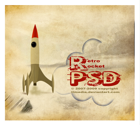 retro-rocket-psd-71443606