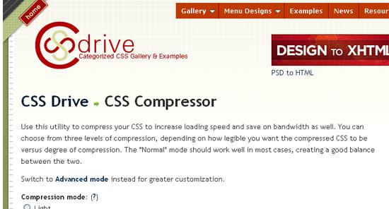 cssdrive-csscompressor