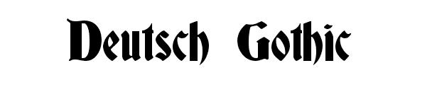 deutsch-gothic