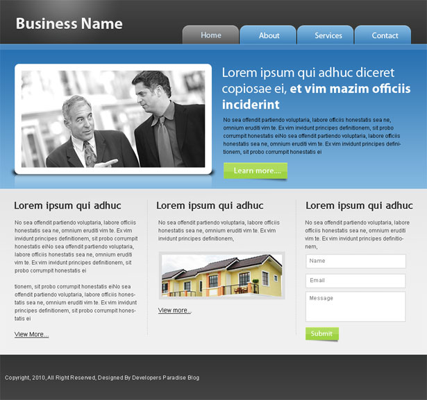 business-template-small